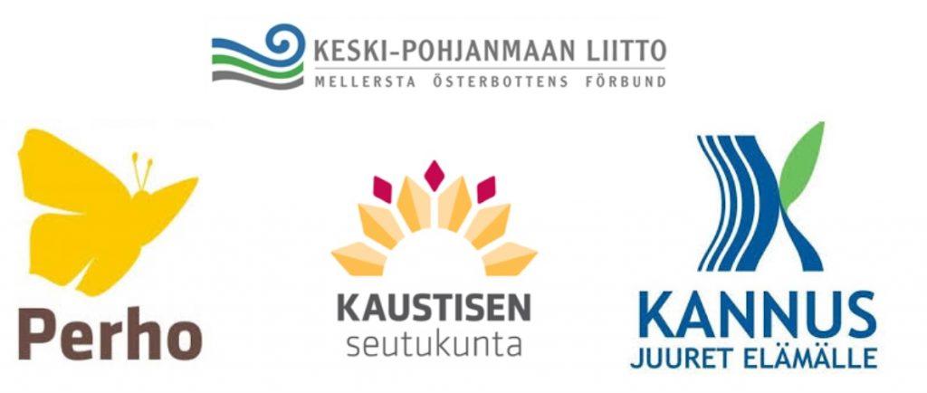 Kyytiin2 -hankkeen kuva rahoittajaorganisaatioiden logoista
