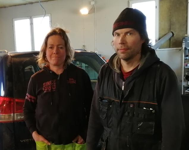 Marko Heikkilä ja Heide Bredarholm